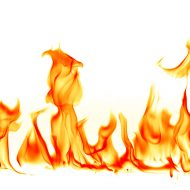 190x190 Fire White Background Images All White Background