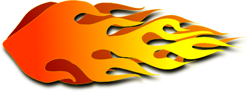 512x188 Free Flaming Clipart