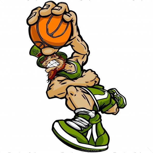 590x590 St Patricks Day Basketball Clip Art