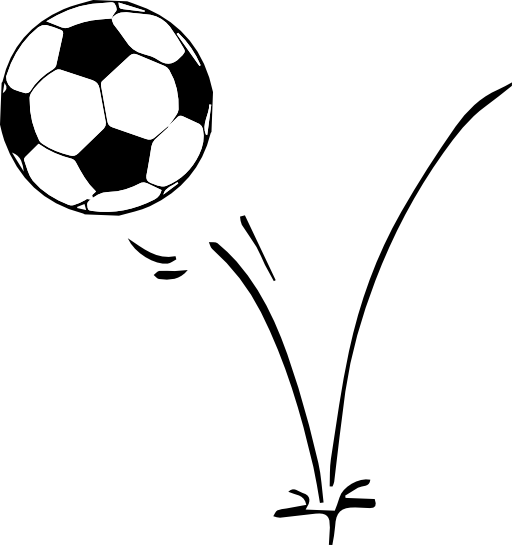 512x545 Flaming soccer ball clip art clipart