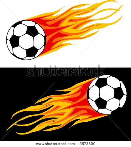 418x470 flaming soccer Soccer diva Soccer ball