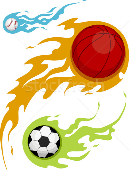 454x600 Flaming Basketball Stock Photos, Stock Images And Vectors Stockfresh