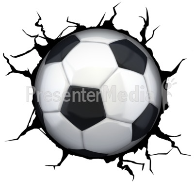 400x400 Soccerball Flaming
