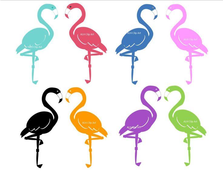 Flamingo Clipart Black And White