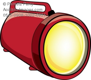 300x262 Art Illustration Of A Large Flashlight