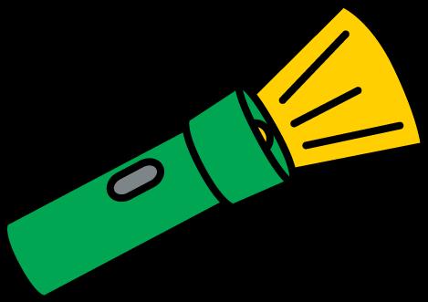 469x331 Flashlight Clipart