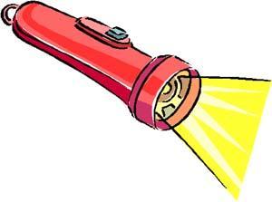 300x223 Flashlight Clipart Clipart