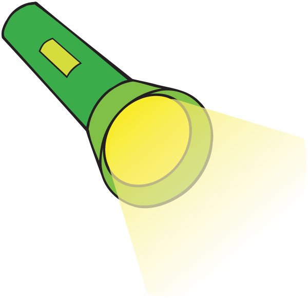 600x580 Flashlight Clipart Free Images