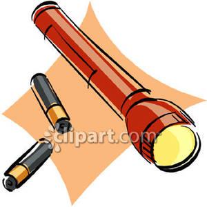 300x300 Battery Torch Clip Art Cliparts