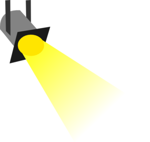 298x282 Flashlight Key Clip Art Image