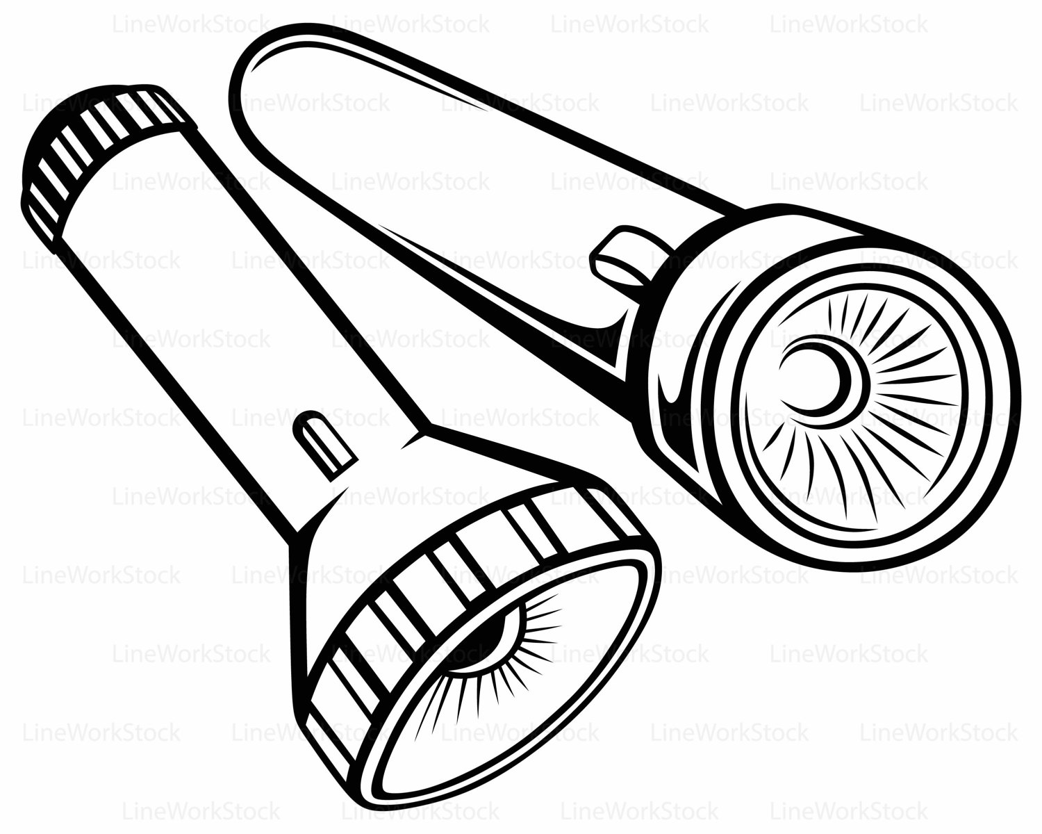 1500x1200 Flashlight Svg,flashlight Clipart,flashlight Svg,flashlight