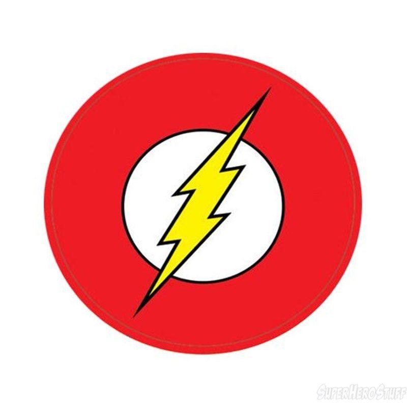 800x800 Flash Symbol Sticker Superhero Logos, Flash Superhero And Birthdays
