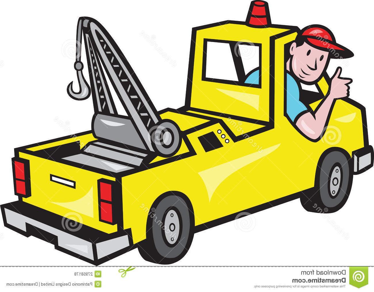 1300x1015 Hd Towing Car Clipart Clipartfest Wrecker Cdr
