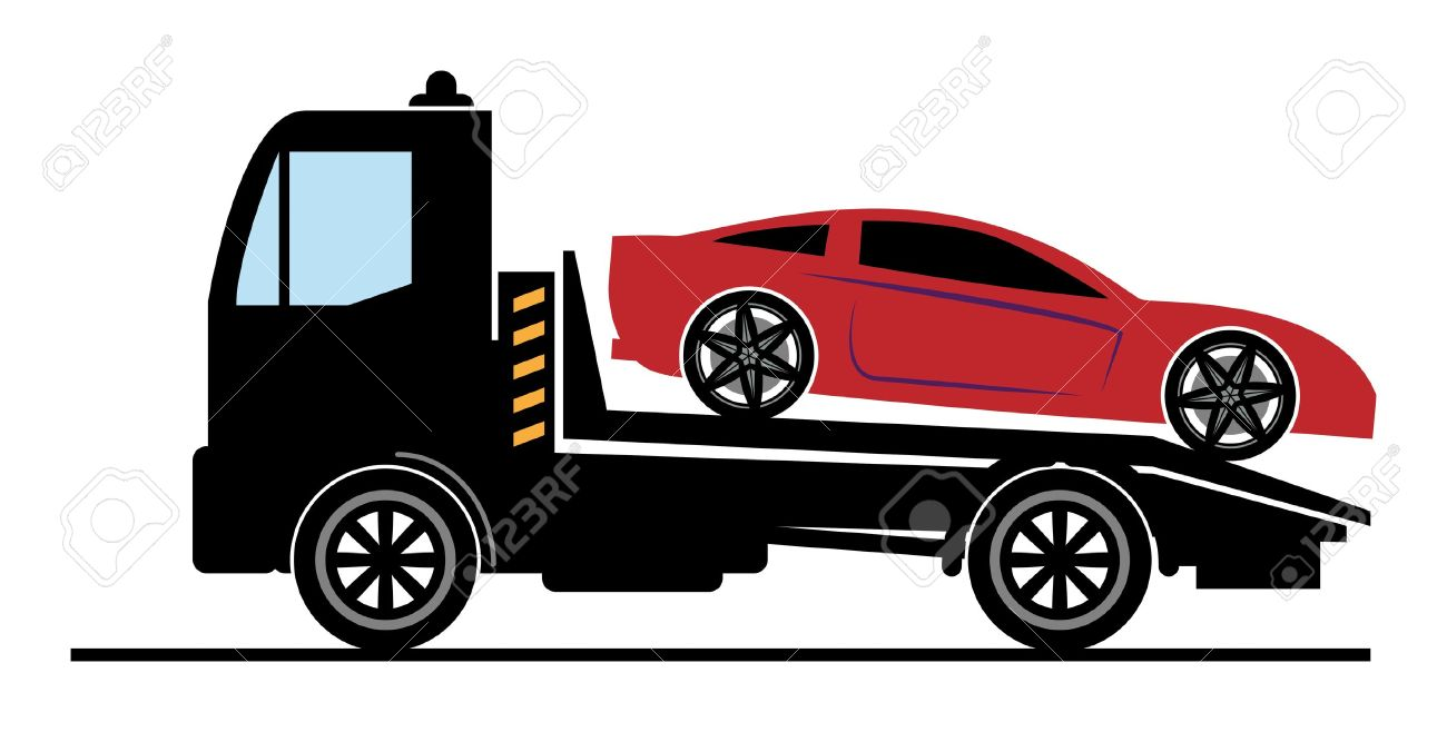 1300x658 Red Clipart Tow Truck
