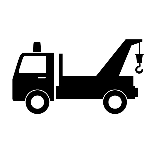 500x500 Tow Truck Clip Art Sign Clipart Free Download