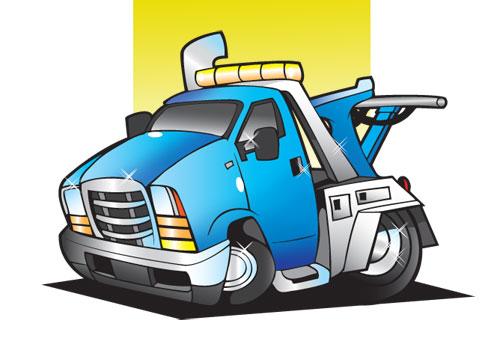 500x353 Wrecker Truck Cliparts 277213
