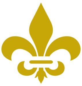 Fleur De Lis Gold