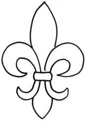 176x250 Fleur De Lis Stencil Pattern Group