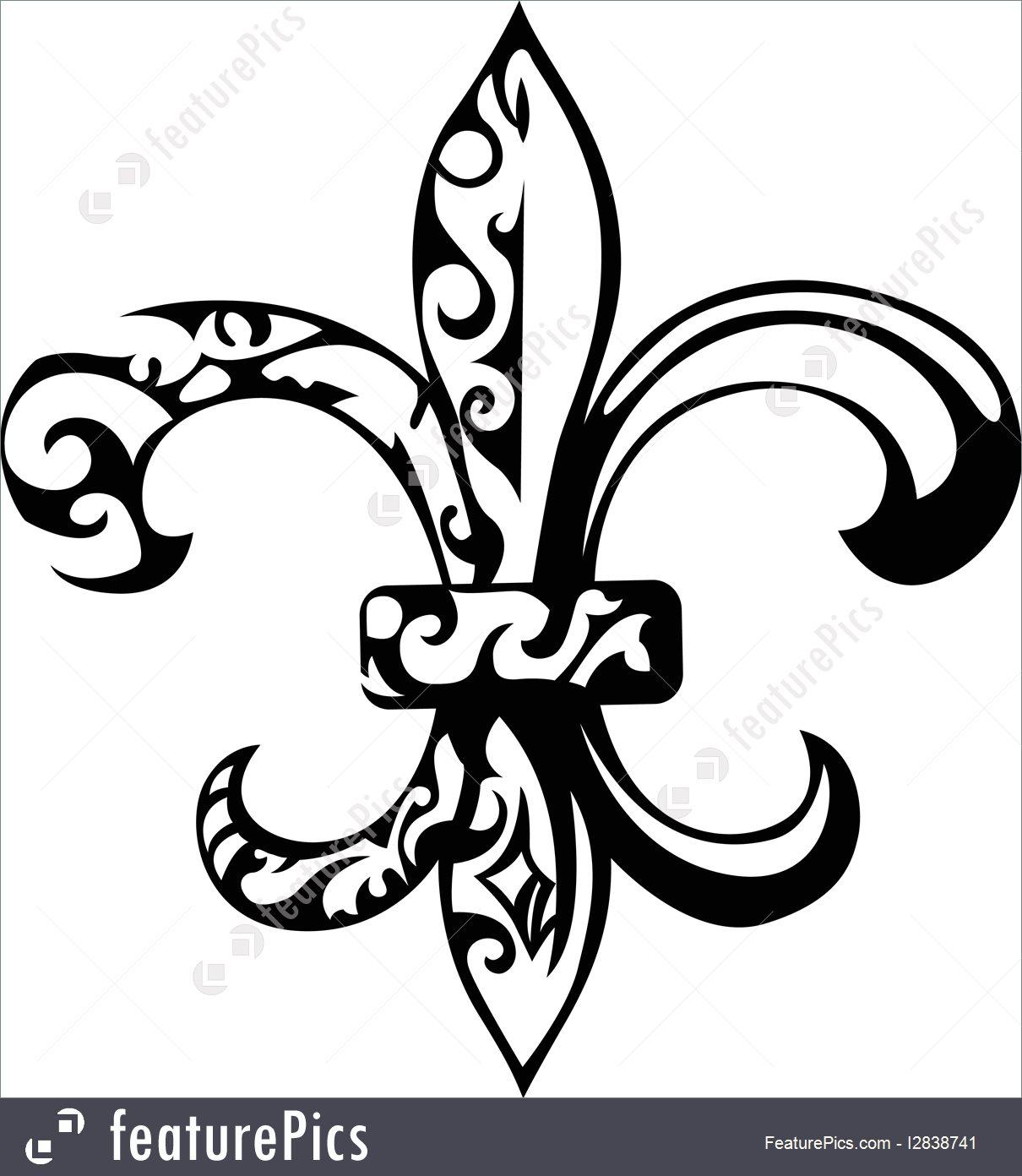 1210x1392 Illustration Of Fleur De Lis Design