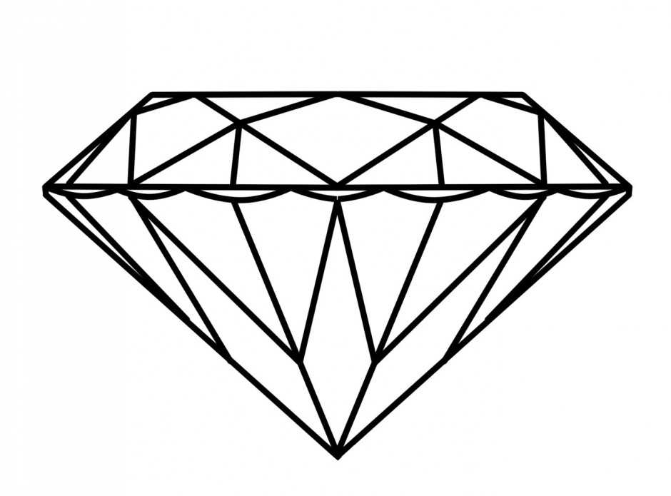940x695 Cartoon Diamond Clip Art Diamond Graphics Clipart Diamond Icon
