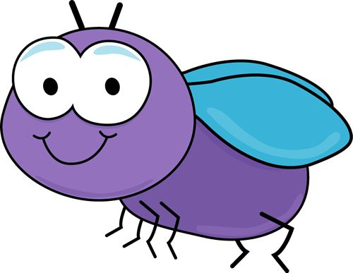 500x387 Fly Insect Clipart