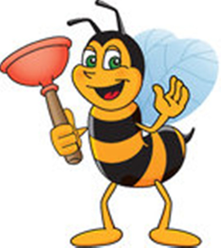 768x860 Clip Art Cartoon Worker Bees Clipart Bee's And Dragon Flies