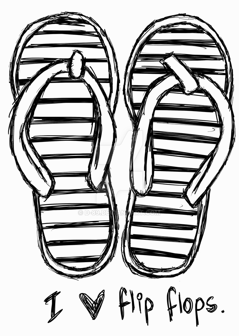 800x1125 I Love Flip Flops By D 89