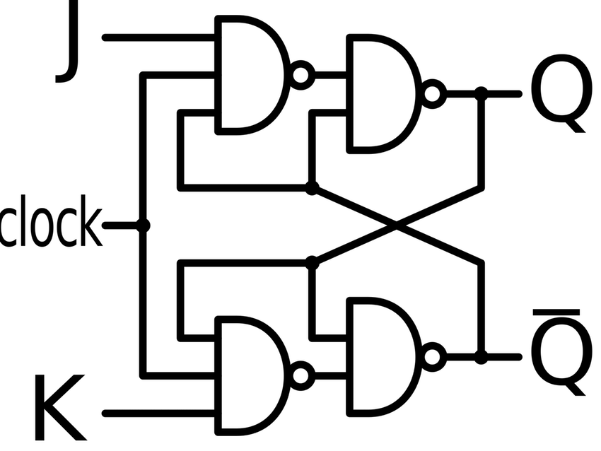 850x638 Jk Flip Flops ~ Wiring Diagram Components