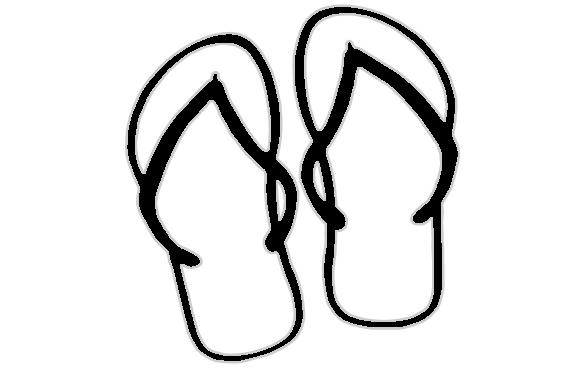 d65684ceda Flip Flops Drawing | Free download best Flip Flops Drawing on ...