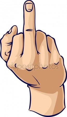259x450 Girl Middle Finger Stock Photos, Royalty Free Girl Middle Finger