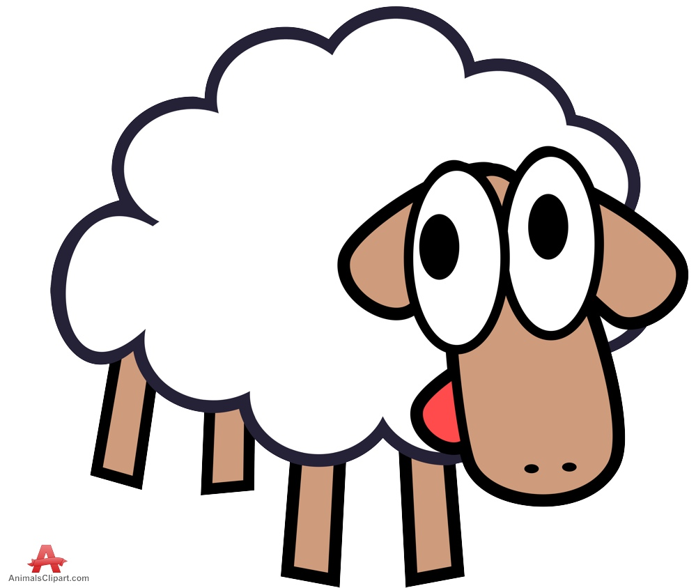 999x844 Cute White Sheep Clipart Free Design Download