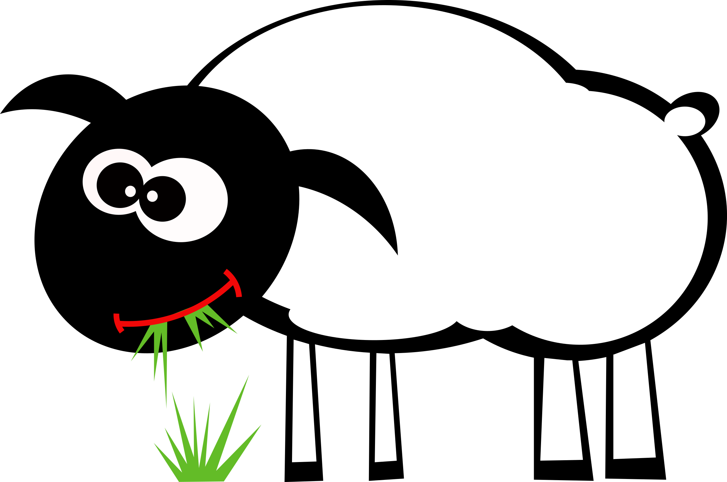 2400x1592 Grazing Lamb Clipart, Explore Pictures