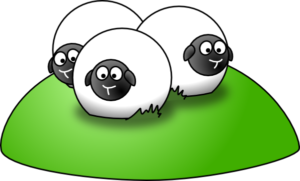 600x363 Sheep Herd Clipart Clipart Panda