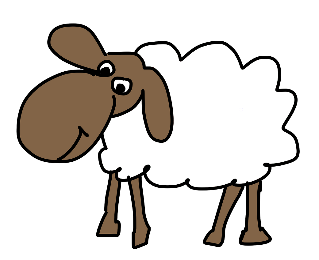 1040x849 Sheep Free To Use Clipart