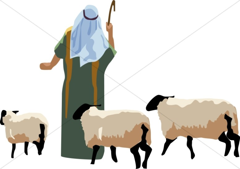 776x548 Clipart Of Shepherd And Sheep 101 Clip Art