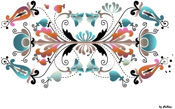 567x352 Floral Numbers Free Vector Download (8,616 Free Vector)
