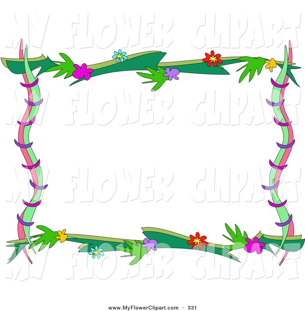 1024x1044 Pink Flower Frame Clip Art