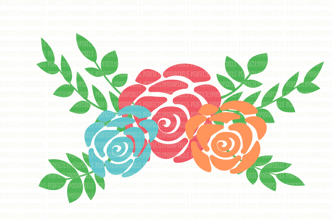 1156x762 Floral Swag Svg Files Flower Svg Files Design Bundles
