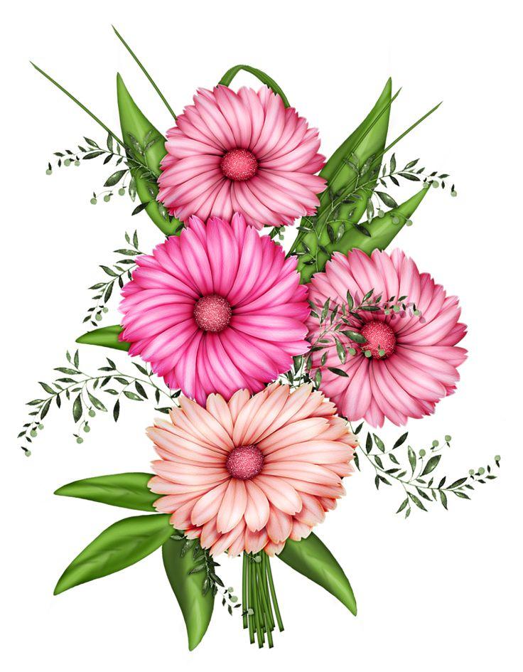 736x945 Flower Clip Art Png