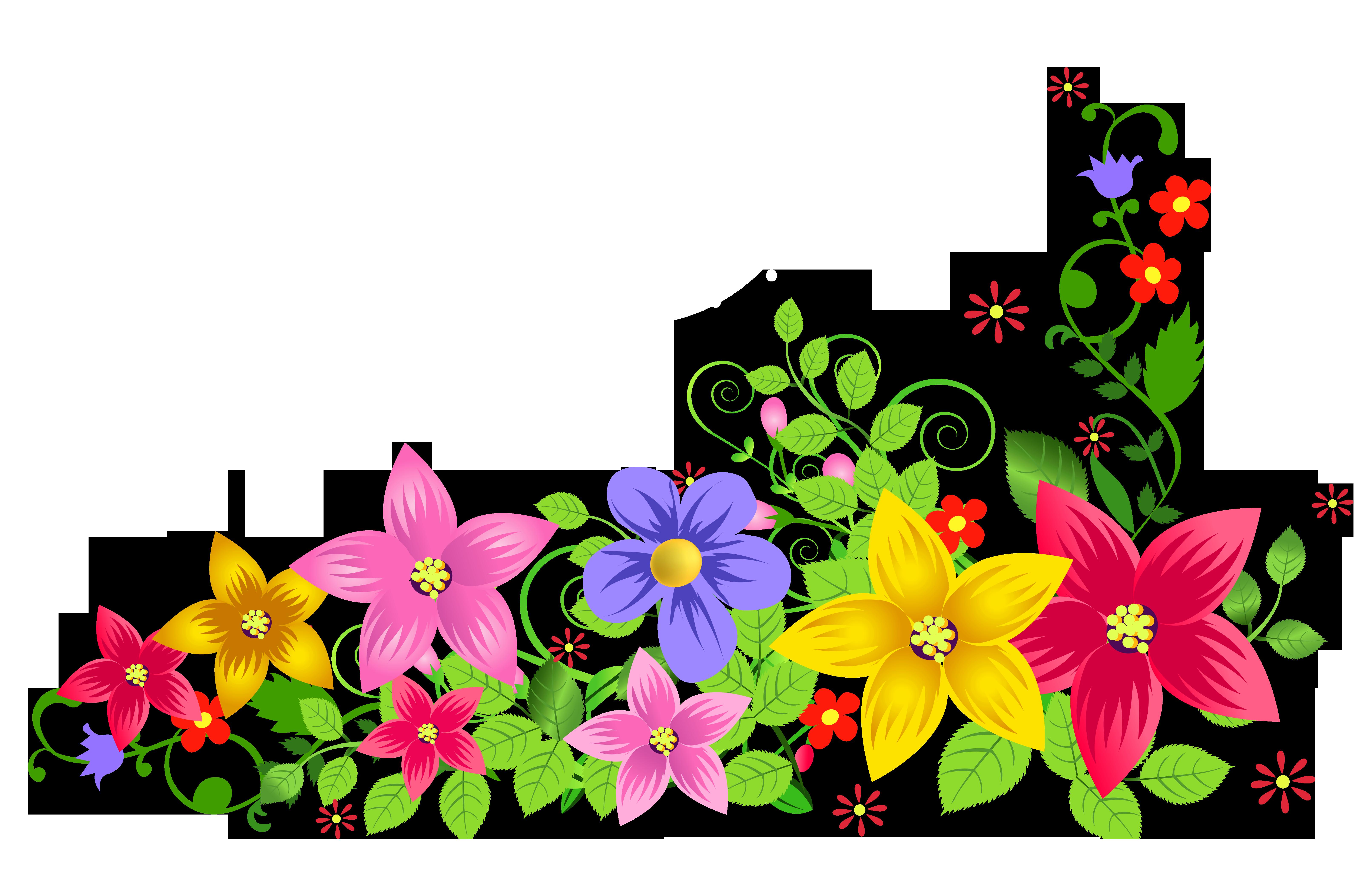 6446x4096 Transparent Floral Decoration PNG Pictureu200b Gallery Yopriceville