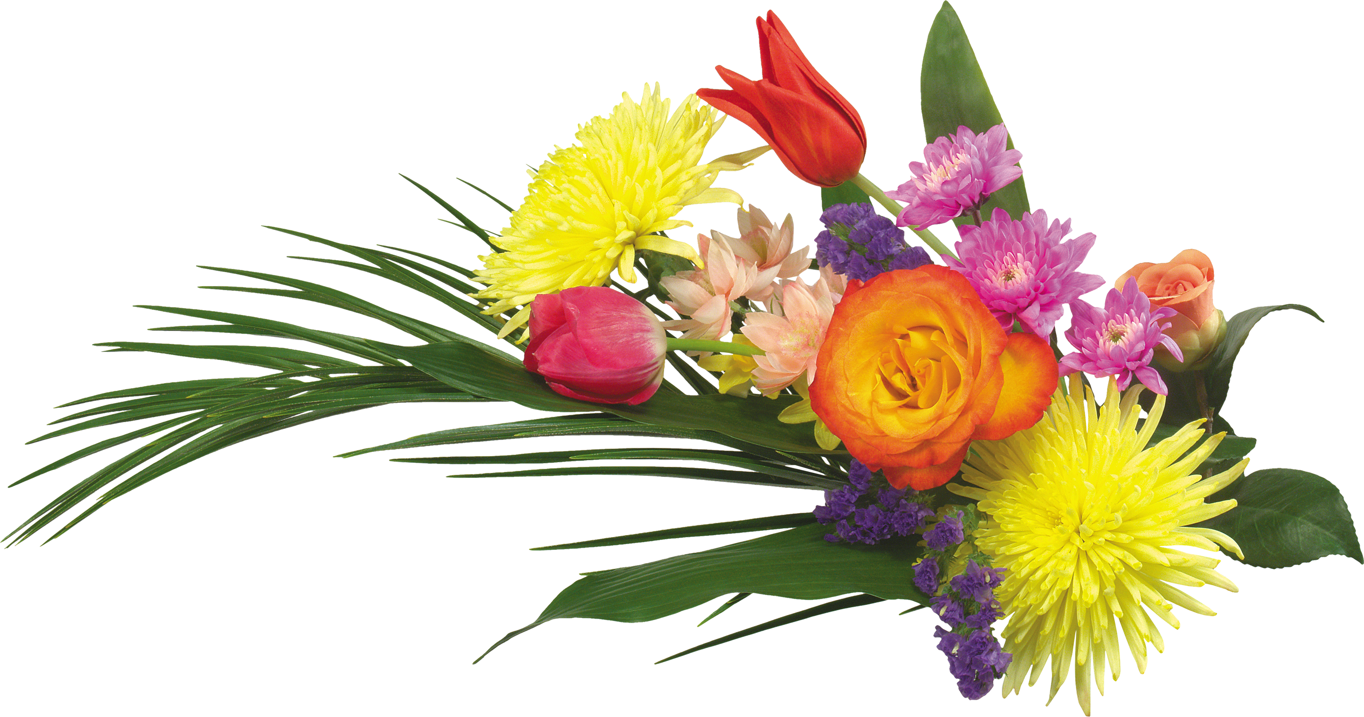 2781x1463 Bouquet Of Flowers Png Images Free Download