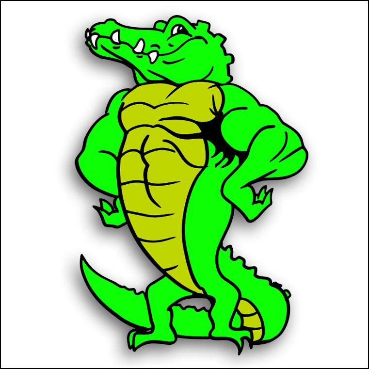 761x761 Amphibian Clipart Florida Gator