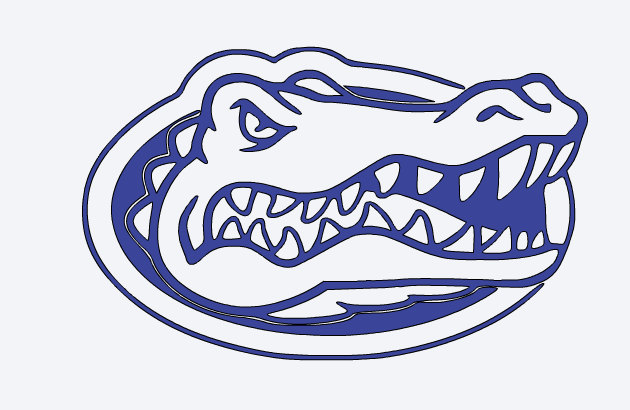 630x410 Florida Gators Yeti Vinyl Decal