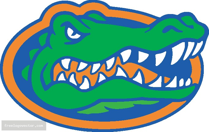 683x432 Florida University Gator Clipart