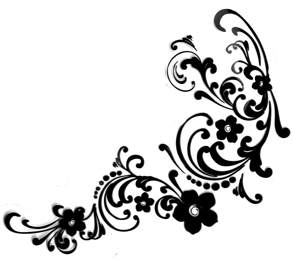 1000x922 Flourishes Clipart Hostted