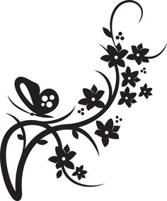 236x283 Simple Flower Designs Black And White Free Download Clip Art