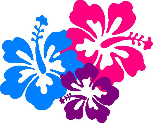 600x482 Hawaiian Flower Clip Art Borders Free Clipart Images