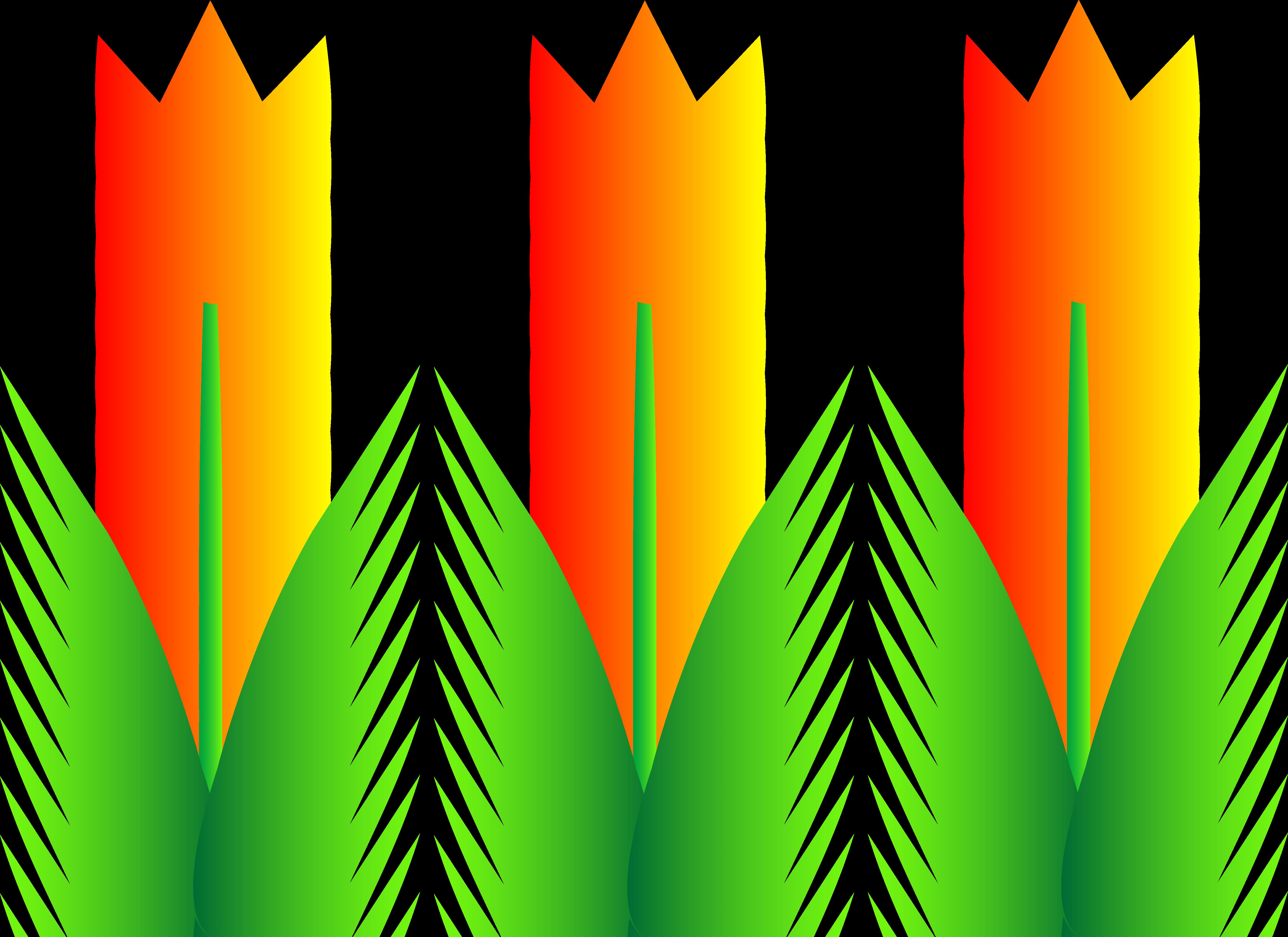 5367x3905 Best Spring Flowers Clip Art