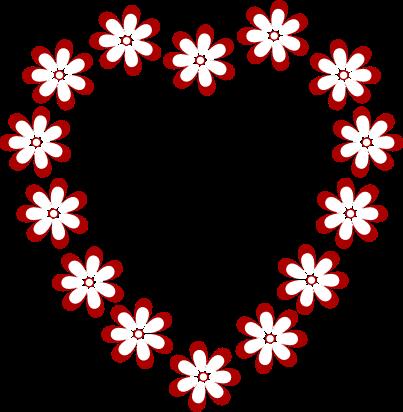 403x412 Esaphbursio Free Flower Border Clip Art
