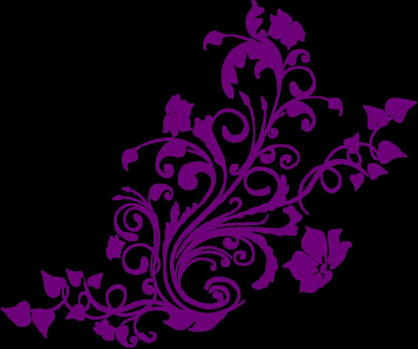 827x690 Flower Boarder Clipart